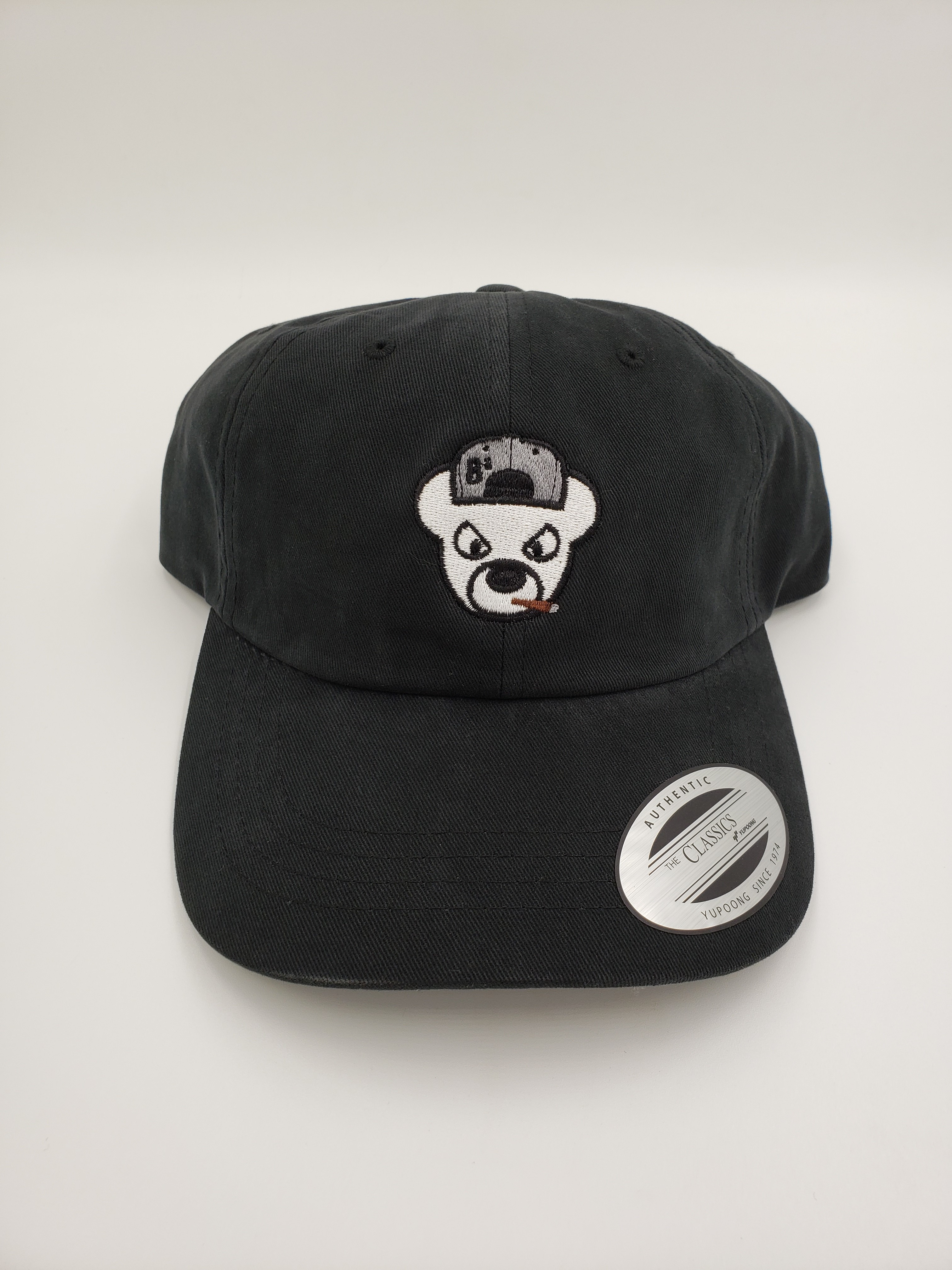 a111352954333c Bearly Blunt Dad Hat – Grass Station 49
