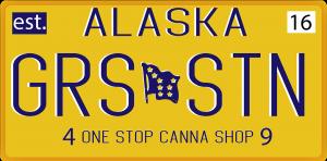 GS49 License Plate Sticke